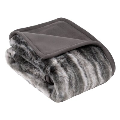 Kittila Throw Color: Gray