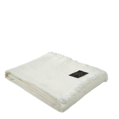 Lavandes Linen Throw Color: Natural
