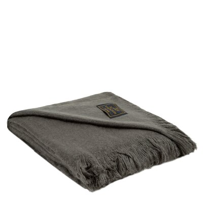 Loft Throw Color: Anthracite