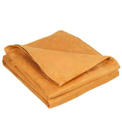 Montana Throw Color: Light Orange