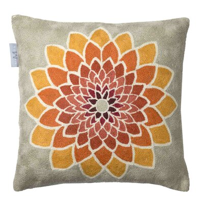 Primavera Pillow Cover Color: Light Orange