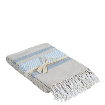 Cotton Throw Color: Denim