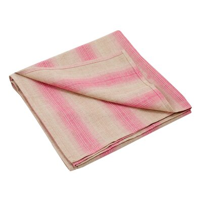 Zen Throw Color: Pink