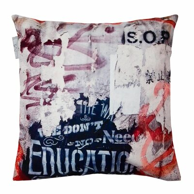 Street Collage Pillow Cover