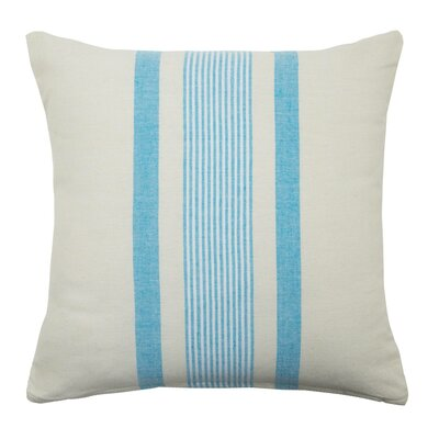 Pillow Cover Color: White/Blue