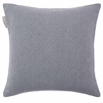 Stone Pillow Cover Color: Dark Gray