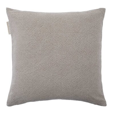 Stone Pillow Cover Color: Taupe