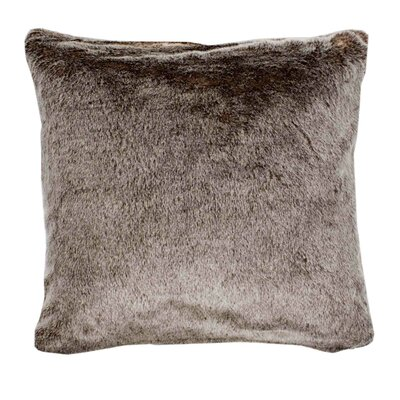 Vancouver Pillow Cover Color: Light Beige, Size: 23.4 H x 23.62 W x 0.39 D