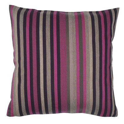 Veracruz Pillow Cover Color: Red Pink