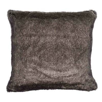 Vancouver Pillow Cover Size: 15.6 H x 15.75 W x 0.39 D, Color: Dark Brown