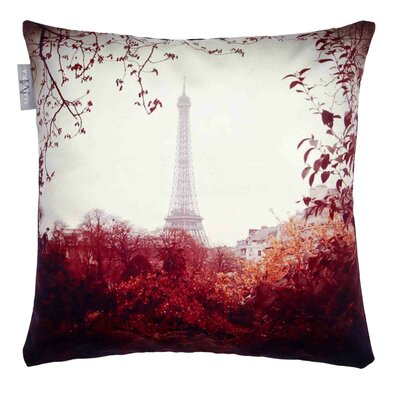 Vintage Paris Pillow Cover