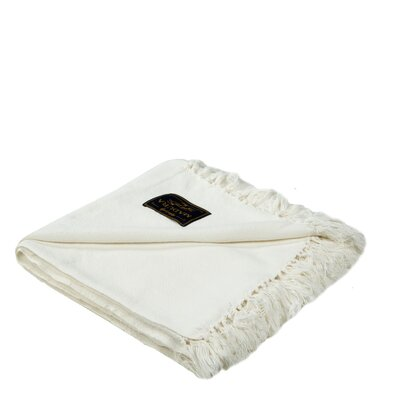 Amish Cotton Throw Color: Natural