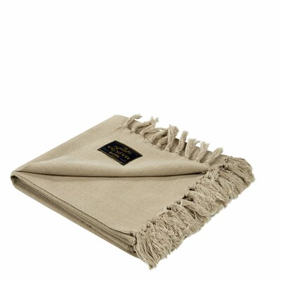 Amish Cotton Throw Color: Light Beige