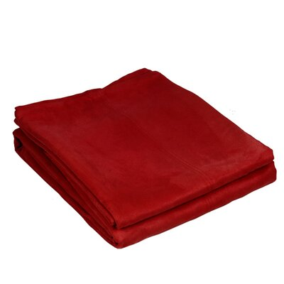 Montana Throw Color: Bright Red
