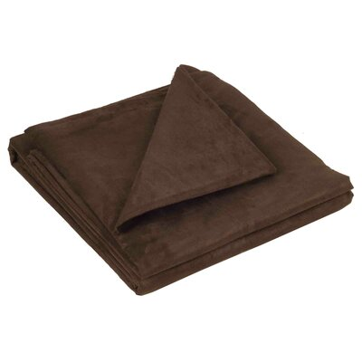 Montana Throw Color: Brown