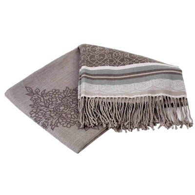 Katmandou Throw Color: Light Gray