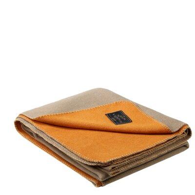 Cocoon Throw Color: Orange/Beige
