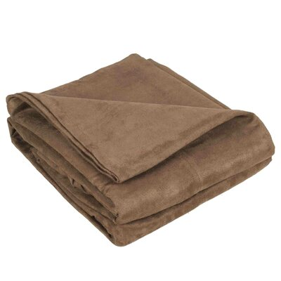 Montana Throw Color: Light Brown