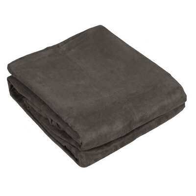Montana Throw Color: Dark Gray
