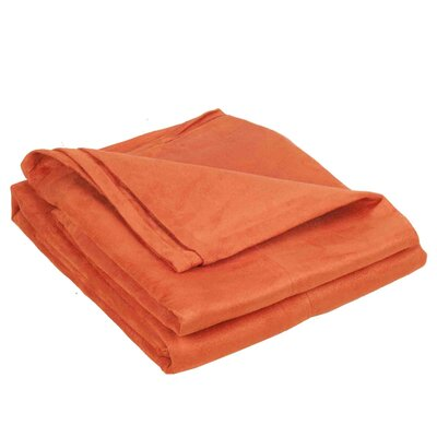 Montana Throw Color: Orange