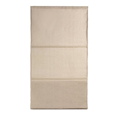 Yearling Roman Shades Color: Light Beige, Size: 17.72 W x 85.8 L