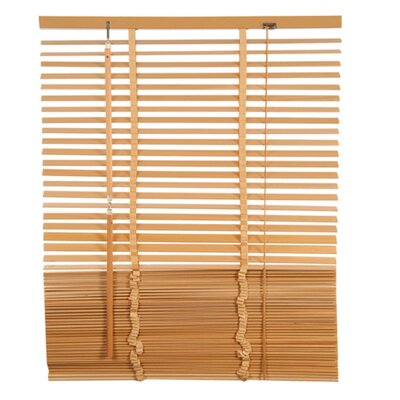Lodge Venetian Blind Size: 23.62 W x 85.8 L, Color: Light Beige