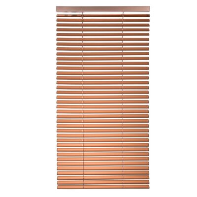 Tekno Venetian Blind Color: Metal Orange, Size: 59.06 W x 85.8 L
