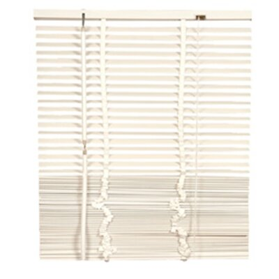 Lodge Venetian Blind Color: White, Size: 39.37 W x 85.8 L