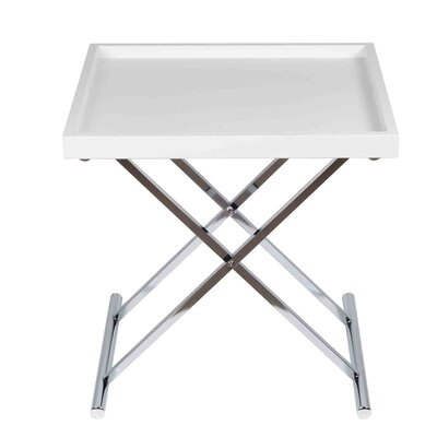 End Table Finish: White