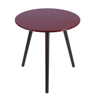 Sweden End Table Finish: Red/Brown