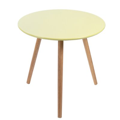 Sweden End Table Finish: Yellow/Green