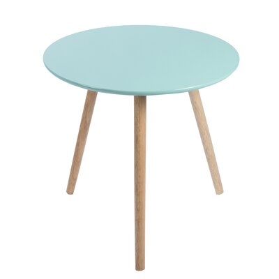 Sweden End Table Finish: Green