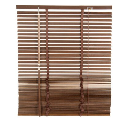 Lodge Venetian Blind Color: Brown, Size: 17.72 W x 85.8 L