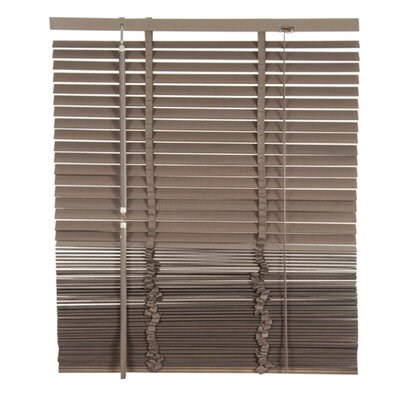 Lodge Venetian Blind Color: Gray, Size: 59.06 W x 85.8 L