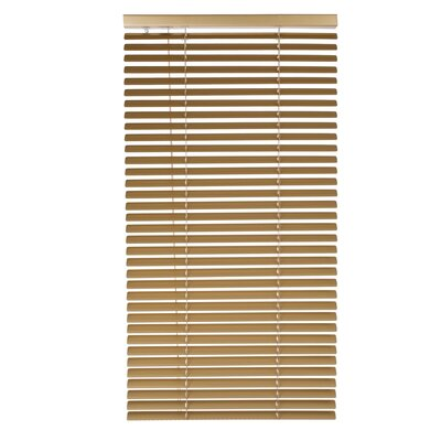 Tekno Venetian Blind Color: Gold, Size: 47.24 W x 85.8 L
