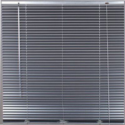 Tekno Venetian Blind Color: Light Gray, Size: 17.72 W x 85.8 L