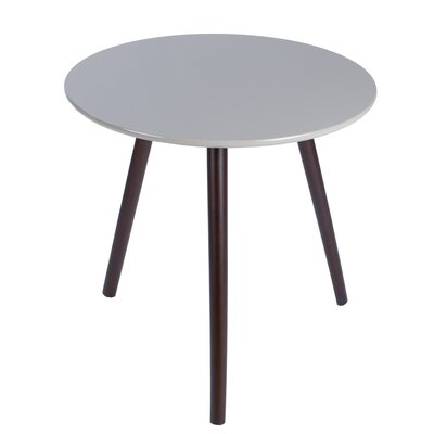 Sweden End Table Finish: Gray/Brown