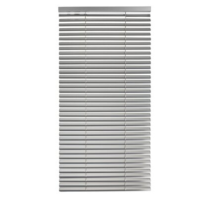 Tekno Venetian Blind Color: Gray, Size: 17.72 W x 85.8 L