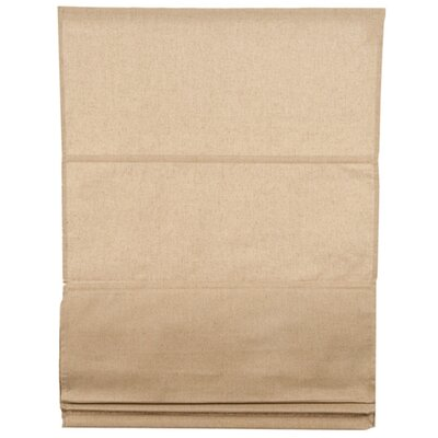 Carlton Roman Shades Color: Light Beige, Size: 23.62 W x 85.8 L