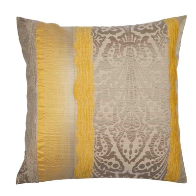 Chenonceau Pillow Cover Color: Pale Yellow