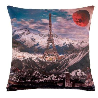 Moonlight Paris Pillow Cover