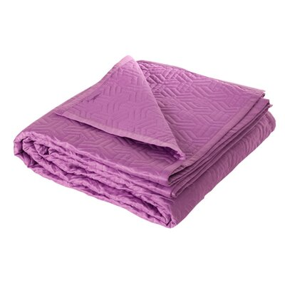 Yams Quilt Color: Dark Purple