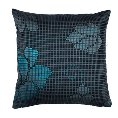 Mosa�ca Pillow Cover Color: Blue