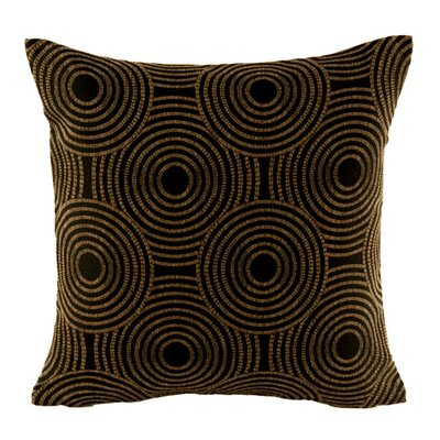 Etna Pillow Cover Color: Dark Brown