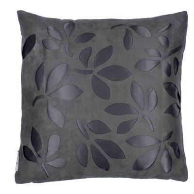 Week End 2 Pillow Cover Color: Dark Gray
