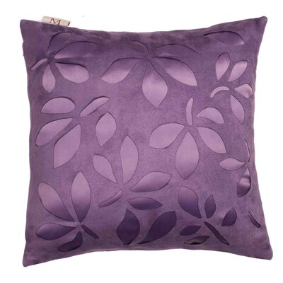 Week End 2 Pillow Cover Color: Purple