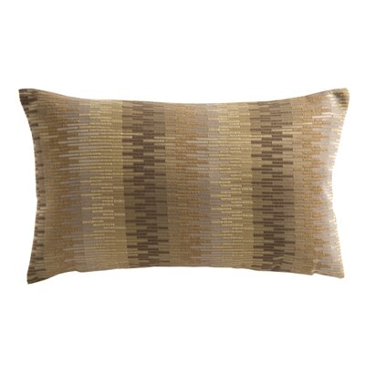 Manhattan Pillow Cover Color: Dark Brown