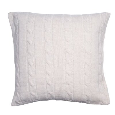 Midland Pillow Cover Color: Off White