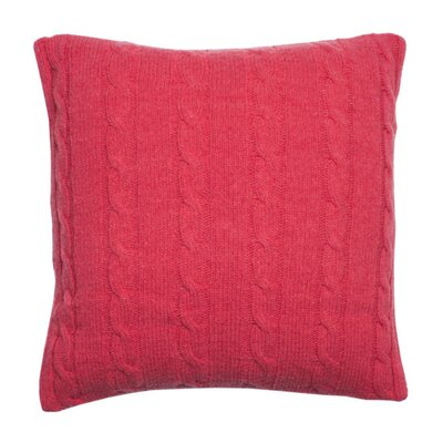 Midland Pillow Cover Color: Dark Pink