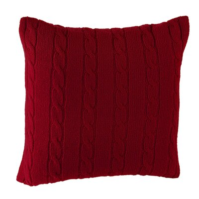 Midland Pillow Cover Color: Red Brick